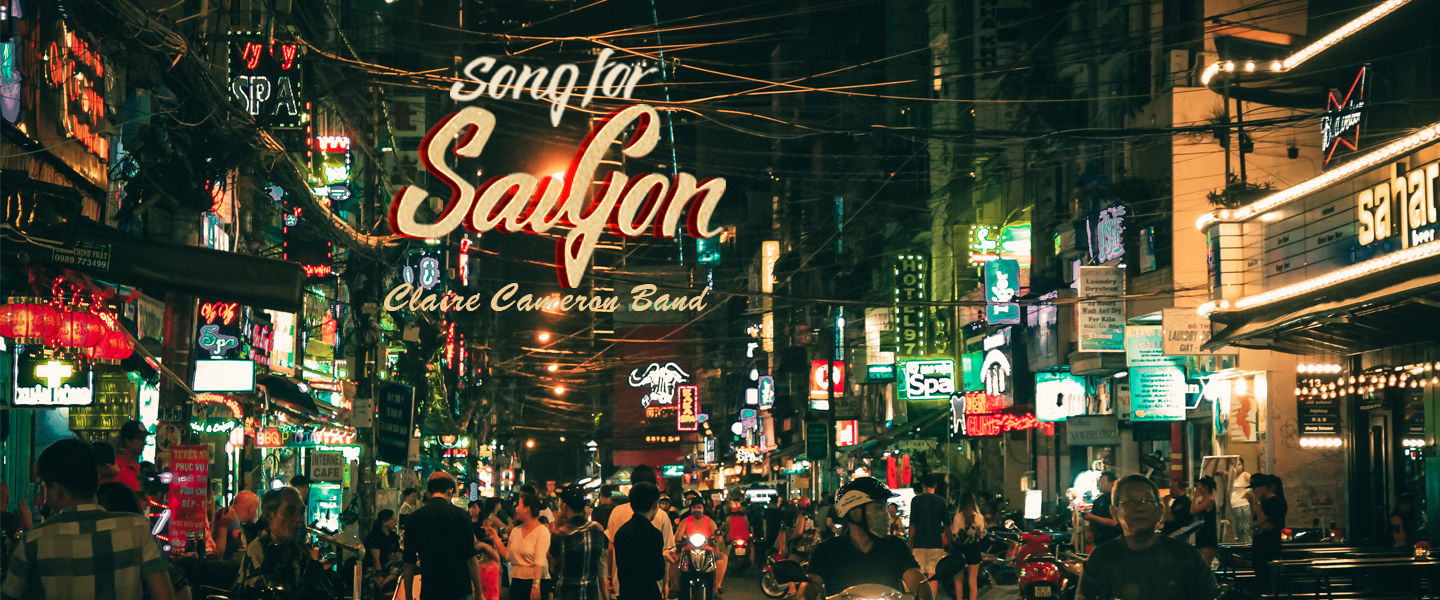 Song For Saigon Cover Art Designed by Nguyen Thi Kim Hue