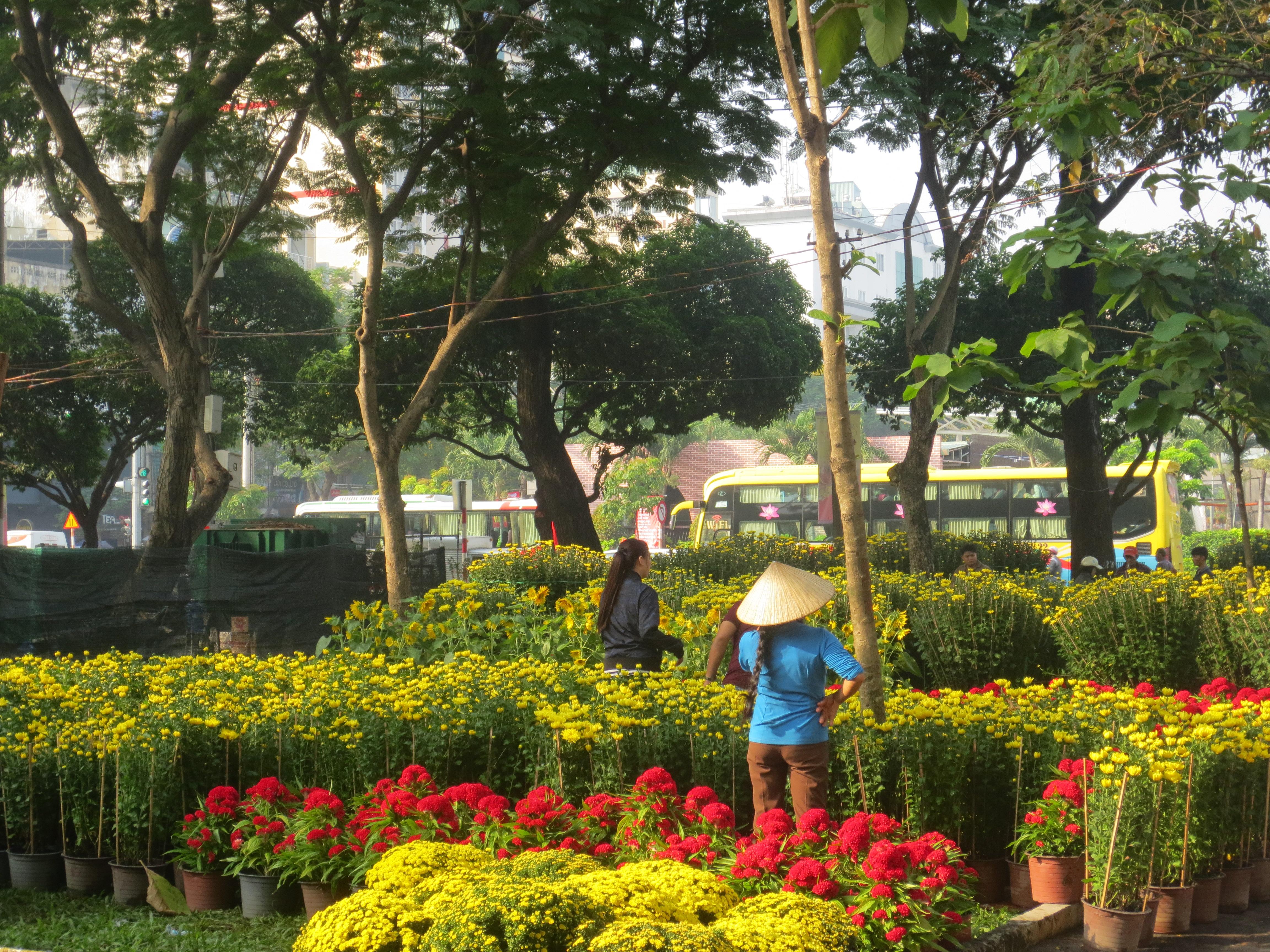 23/9 Park (Pham Ngu Lao Street near Ben Thanh Market, Dist.1