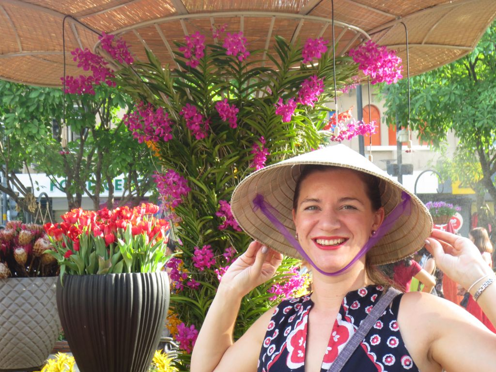 Claire Cameron on Nguyen Hue Flower Street 1