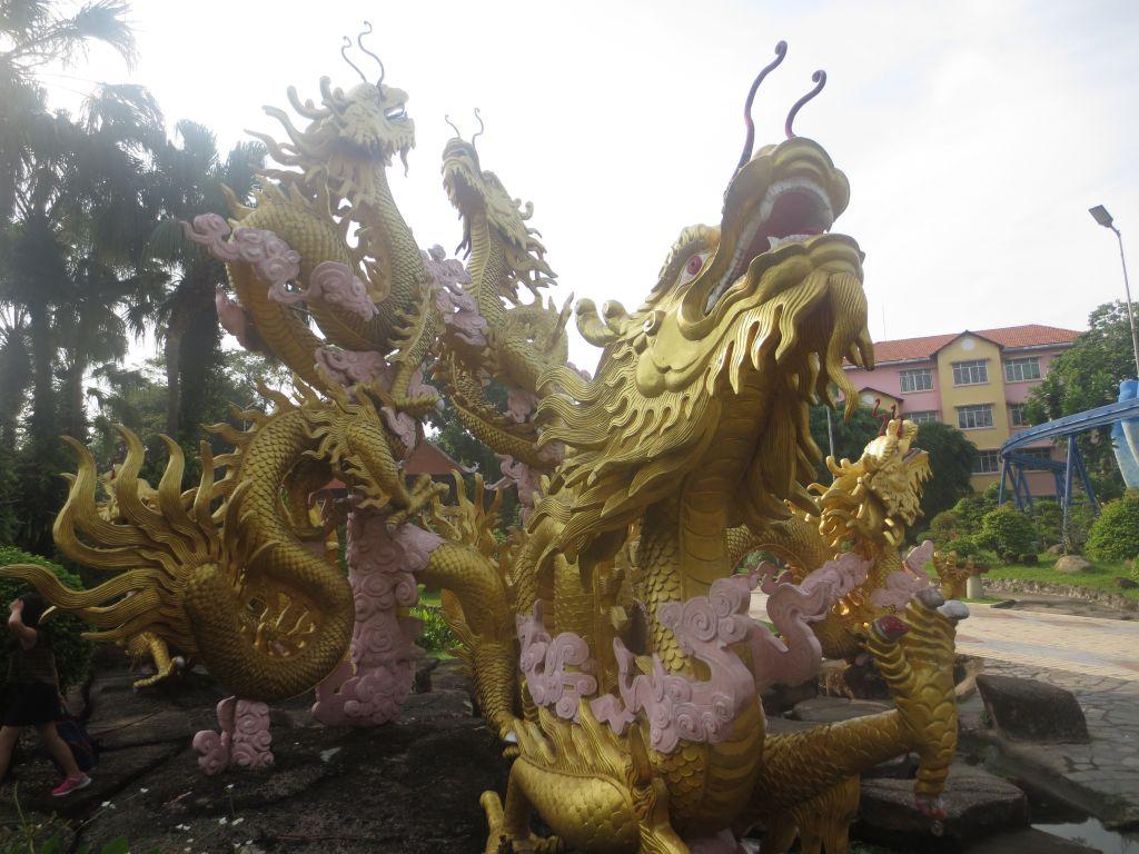 Dragons, Dam Sen Park, Saigon