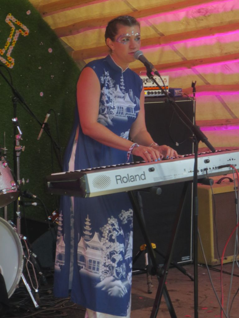 Claire Cameron live on the Carvetti Stage at Kendal Calling 2017