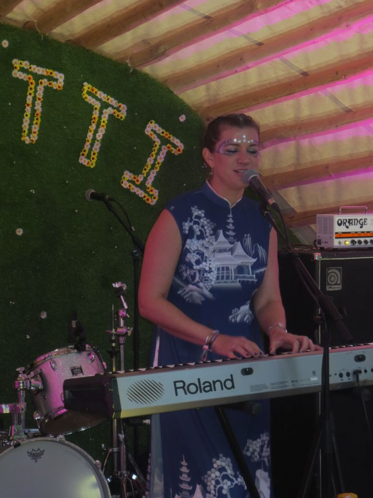Claire Cameron live at Kendal Calling Carvetti Stage
