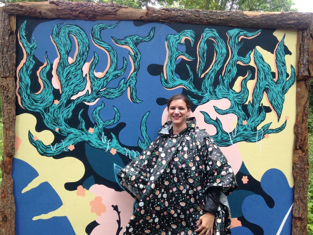 Claire Cameron explores Lost Eden at Kendal Calling